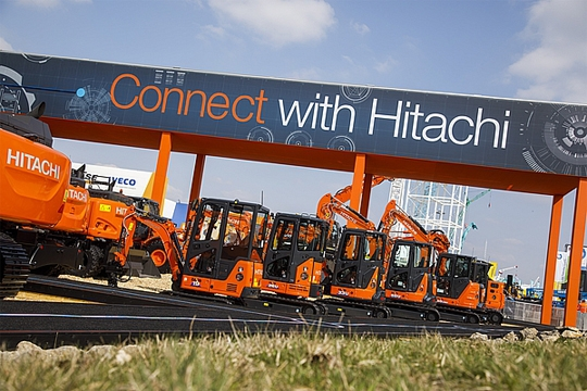 BAUMA 2019: CONNECT WITH HITACHI